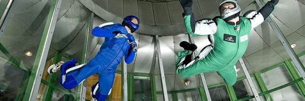 A l'Aerokart, oubliez votre parachute avant de sauter !
