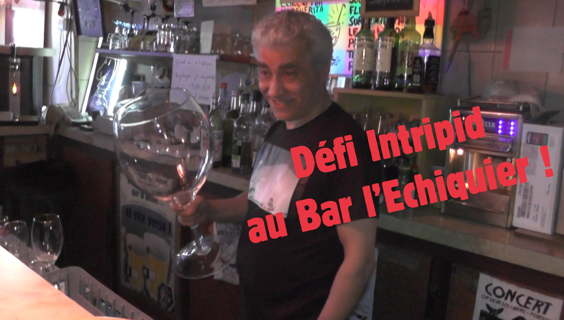 Défi au bar L'Echiquier