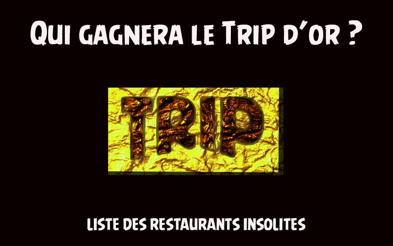 trip d'or cérémonie du meilleur restaurant