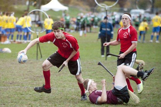 Sport insolite paris- Le Quidditch