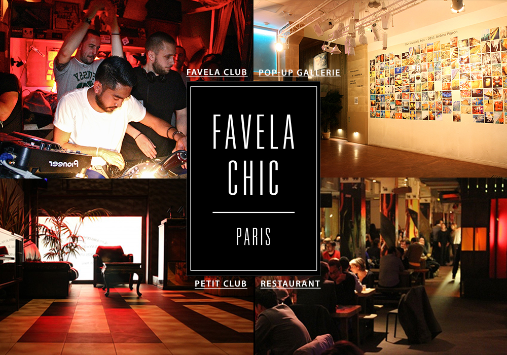favela chic bar dansant république intripid