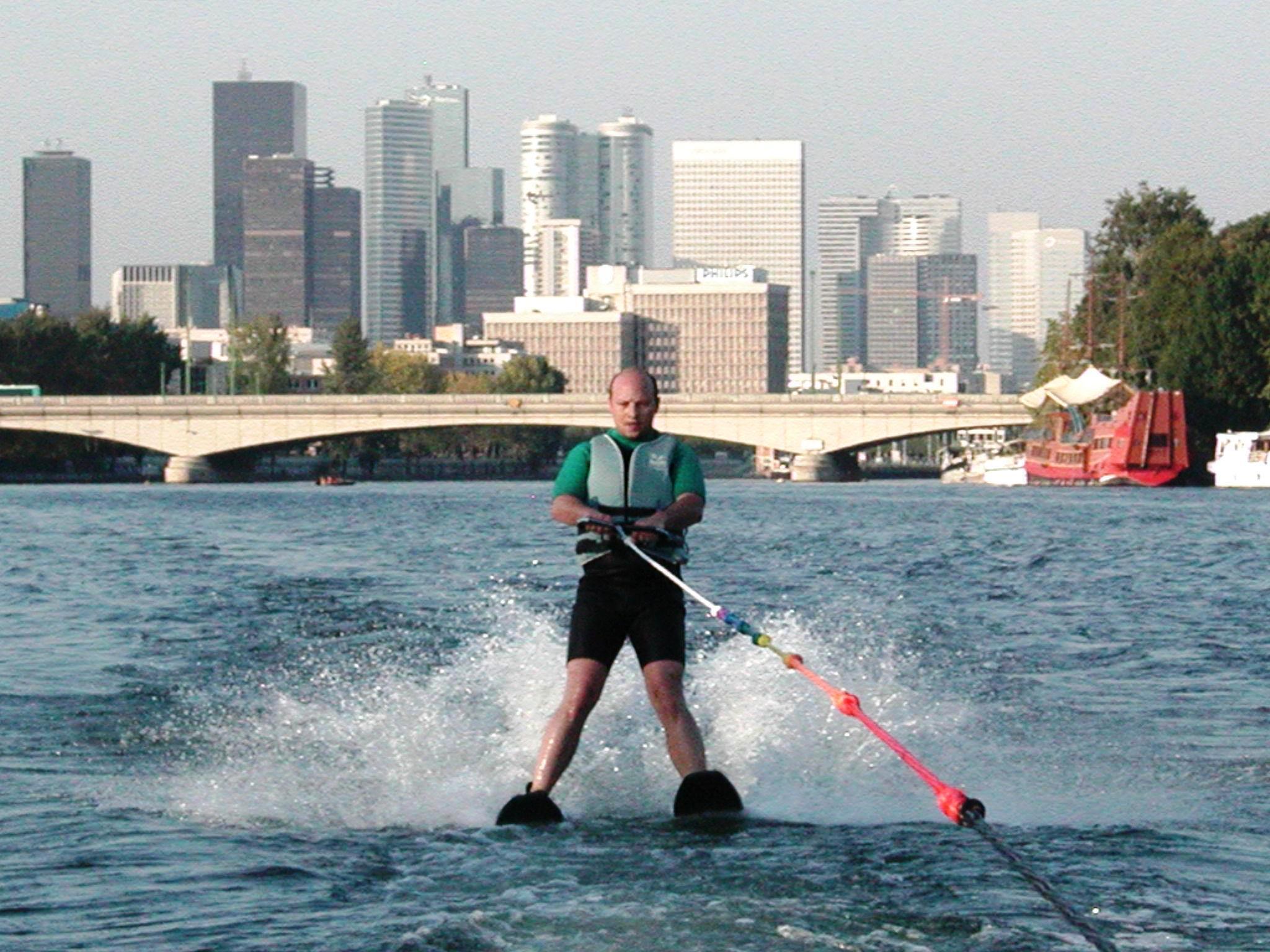 ski nautique à Paris