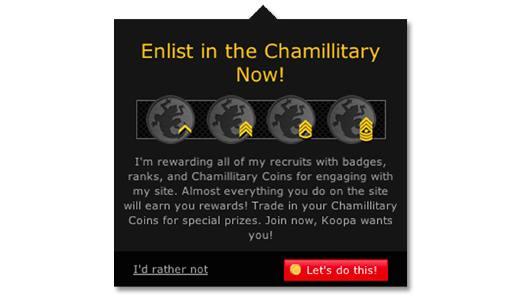 chamilitary gamification