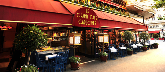 Restaurant le grand café des capucines intripid