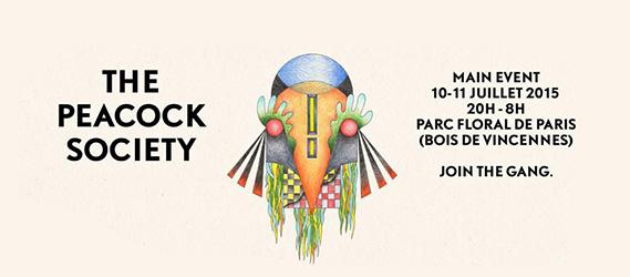 Festival The Peacock Society paris 2015
