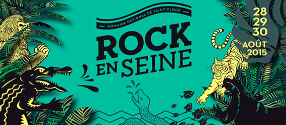Festival rock en seine 2015 paris