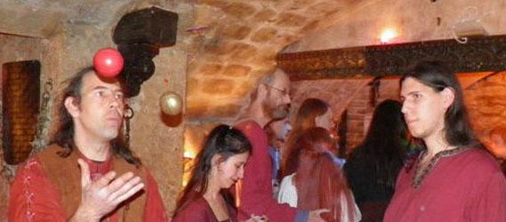 Taverne médiévale Les visiteurs EVG intripid