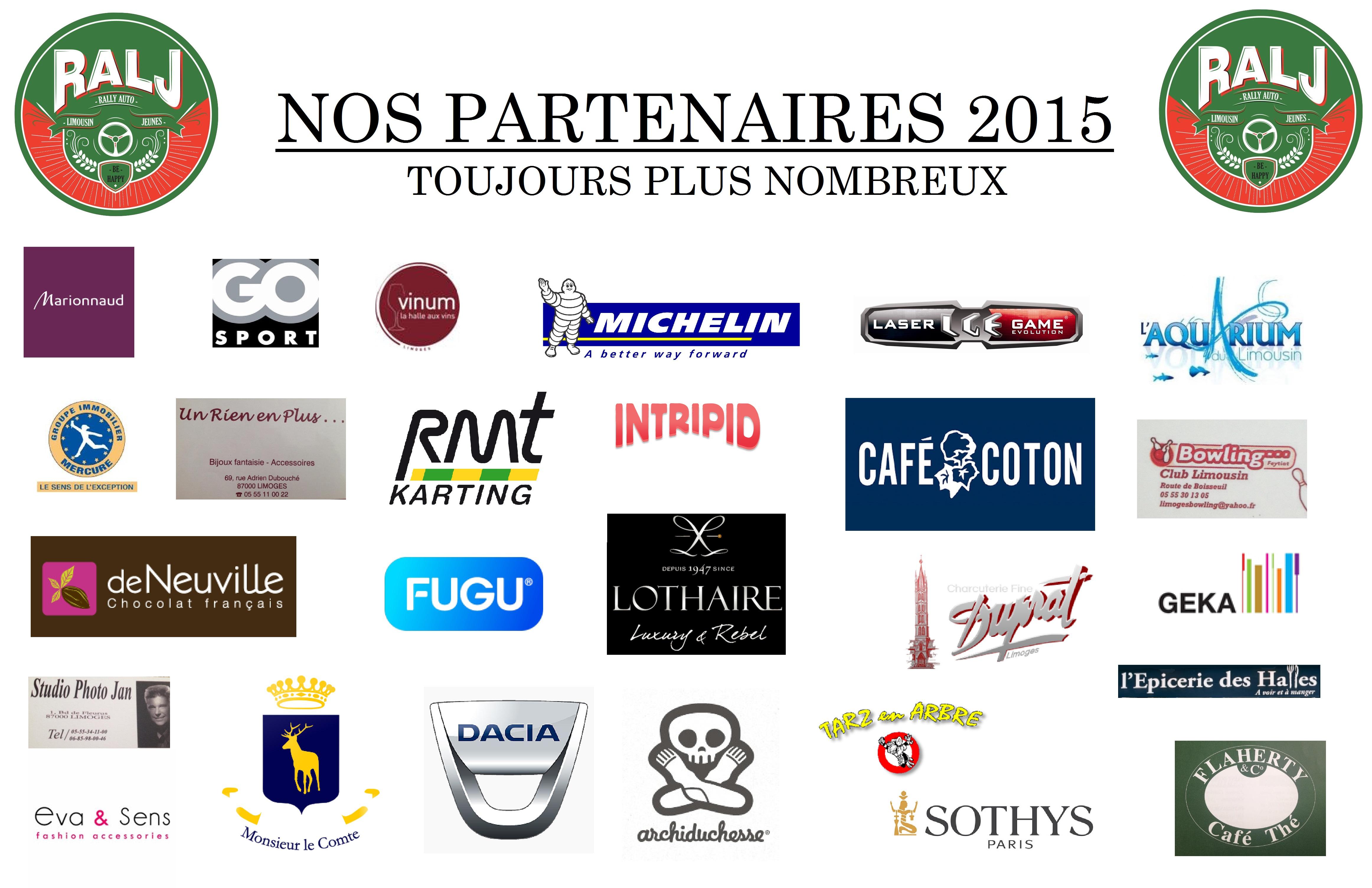 Partenaires RALJ 2015