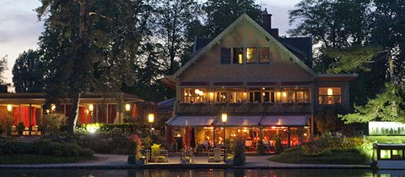 Les restaurants et boites de nuits paris en plein air - Le chalet des iles porte de la muette ...