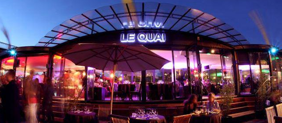 le quai afterworks open bar paris