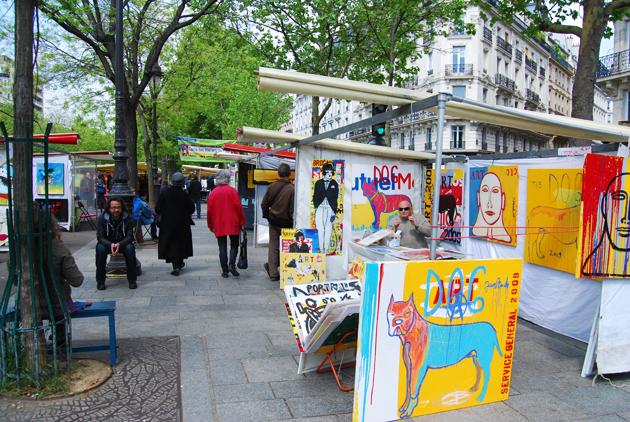 marché bastille art et création