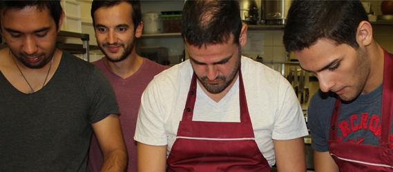 équipe boulangerie defi croissant intripid