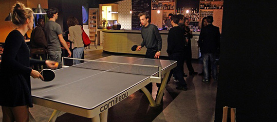 Bar sport paris Gossima ping pong bar
