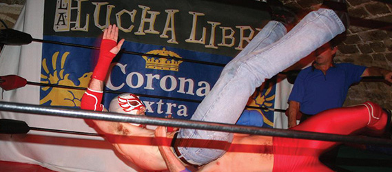Bar sport paris lucha libre