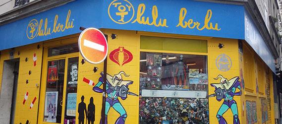Boutique insolite Paris lulu berlu