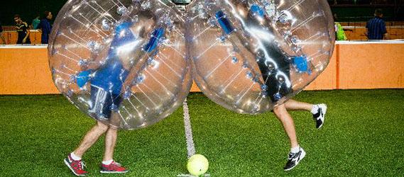 Parcours défis intégration bubble foot