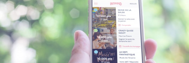 Intripid lance son appli mobile !