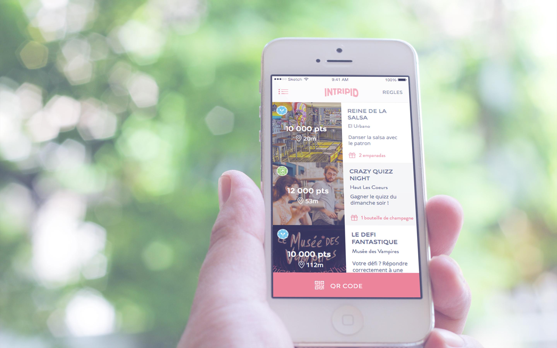 application mobile intripid