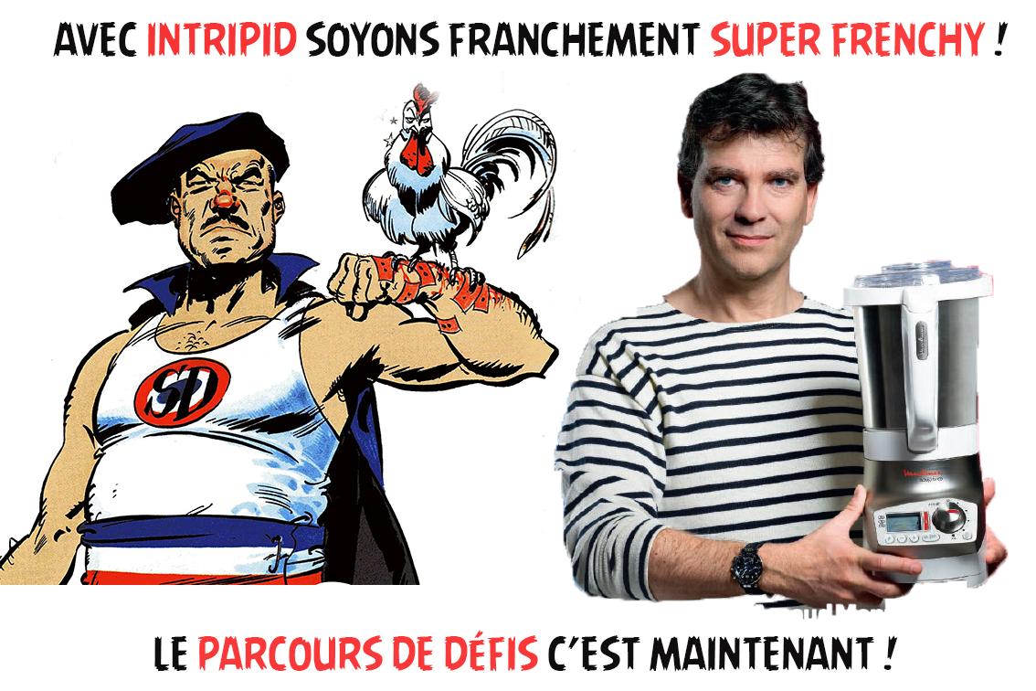 parcours de défis intripid super frenchy