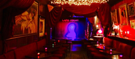 café oscar bar stand up one man show paris