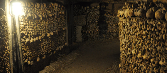 les catacombes paris underground paris secret