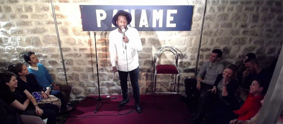 paname art café bar stand up one man show paris