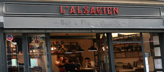 L'alsacien - Bar à machine à bière libre service - Intripid