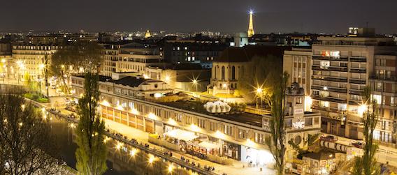 Le Point éphémère - Bar Rooftop Paris