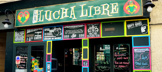 Lucha Libre - EVG Paris - Intripid