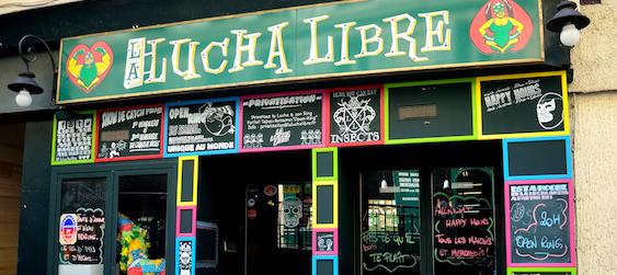 Lucha Libre - EVG Paris - Intripid -activités