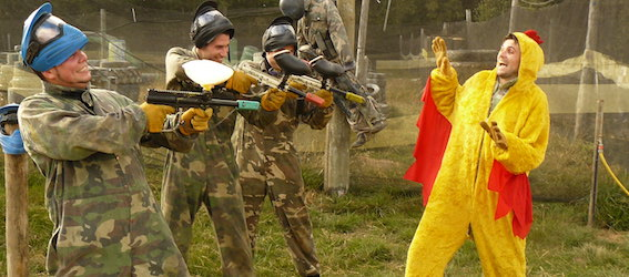 Paintball 75 - EVG Paris - Intripid