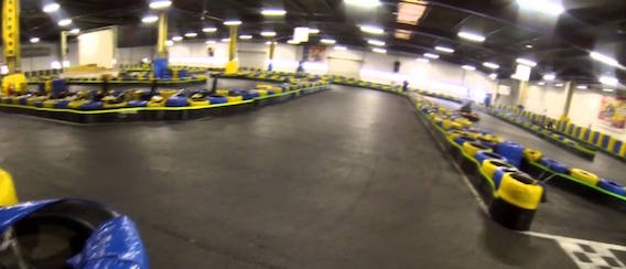 Paris Kart Indoor - EVG Paris - Intripid