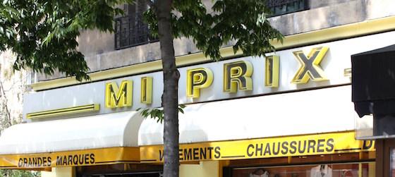 ou trouver des magasin pas cher à Paris - Magasin Mi Prix