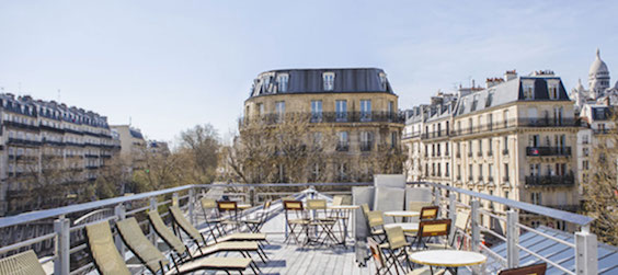 bar Rooftop - brasserie Barbes