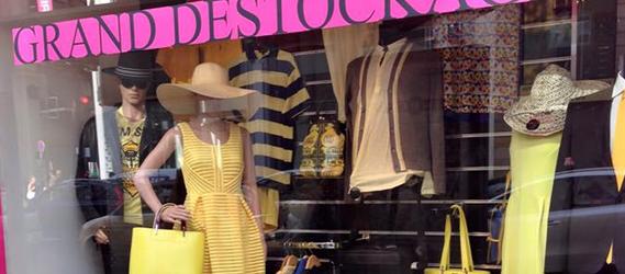 boutique pas cher paris - boutique outlet demarque