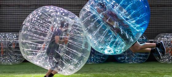 bubble jump - EVG Paris - Intripid