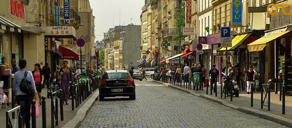 magasin pas cher paris - rue du faubourg du temple