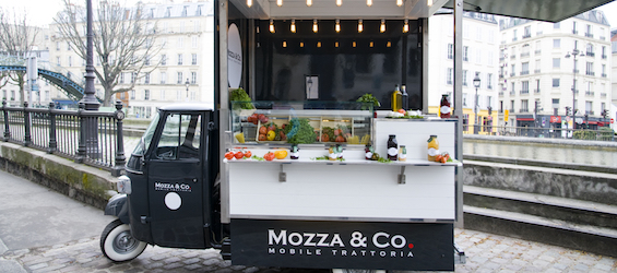 Mozza&Co - Foodtruck Paris - Intripid