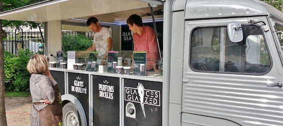 glaces Glazed -Foodtruck Paris - Intripid