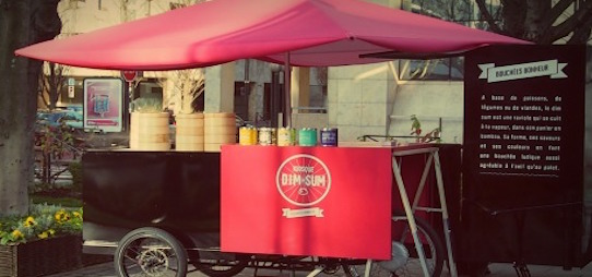 kiosque Dim Sum - Foodtruck Paris - Intripid