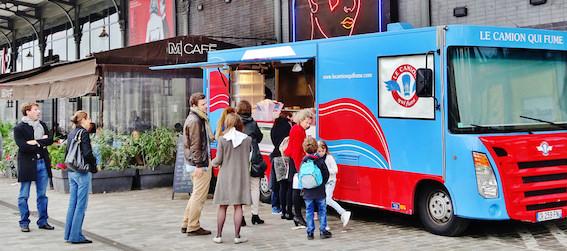 le camion qui fume - Foodtruck Paris - Intripid
