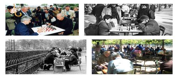 Tournois d'échecs Jardin du luxembourg