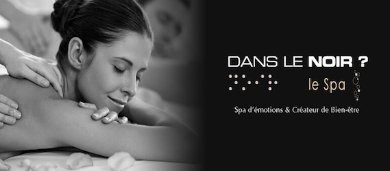 Les meilleures id es d anniversaires insolites sur paris le blog intripid - Massage dans le noir ...