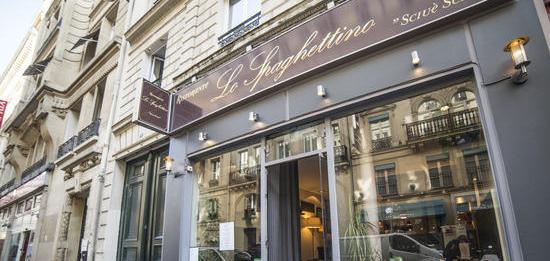 meilleur restaurant italien Paris lo spaghettino