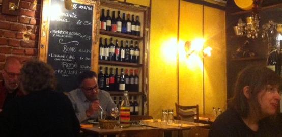 meilleur restaurant italien paris al caratello