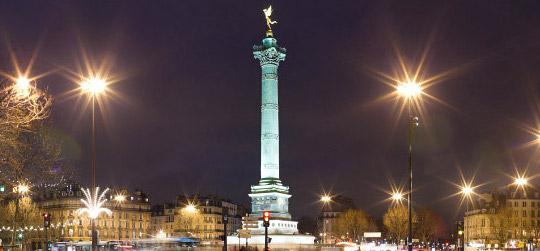 Les meilleurs quartiers où sortir à Paris - Bastille Intripid blog Intripid