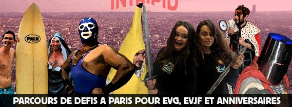 Les 15 meilleurs défis à relever lors d'un EVG à Paris