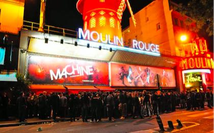 Les boites parisiennes aux meilleurs DJ - La Machine du Moulin rouge