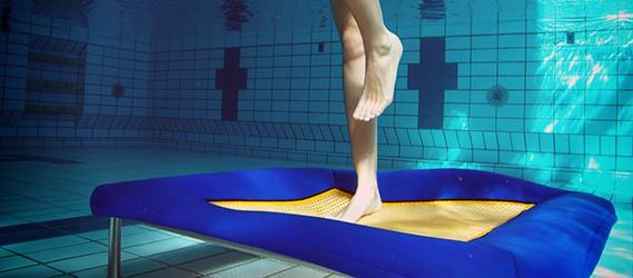 Sport insolite aquajump
