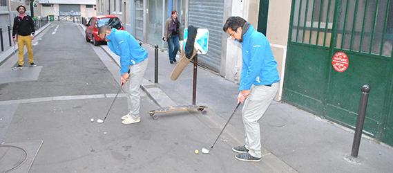 sport insolite Paris